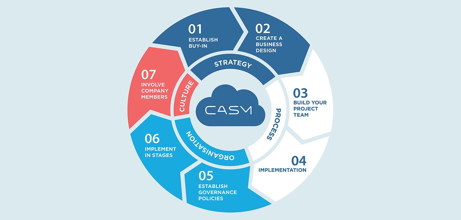 Seven steps to successfully implement CASM